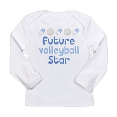 Future Volleyball Star Long Sleeve Infant T-Shirt