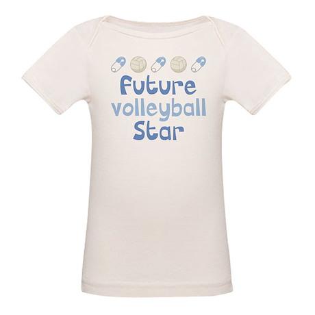Future Volleyball Star Organic Baby T-Shirt