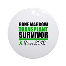 BMT Survivor 2012 Ornament (Round)