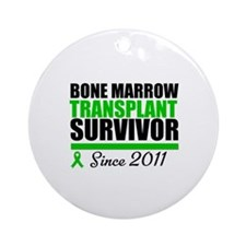 BMT Survivor 2011 Ornament (Round)