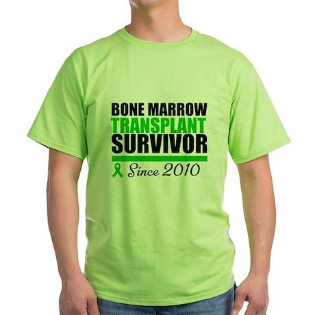 BMT Survivor 2010 Green T-Shirt