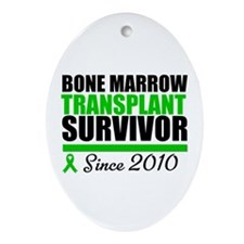 BMT Survivor 2010 Ornament (Oval)