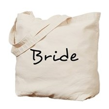 Bride Black Text #2 - Tote Bag