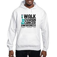 I Walk Ovarian Cancer Hoodie
