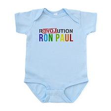 RON PAUL simple Infant Bodysuit