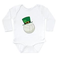 Irish Volleyball Gift Long Sleeve Infant Bodysuit