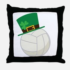 Irish Volleyball Gift Throw Pillow