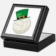 Irish Volleyball Gift Keepsake Box