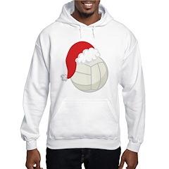 Volleyball Santa Gift Hoodie