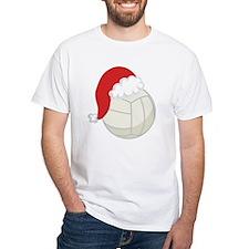 Volleyball Santa Gift Shirt
