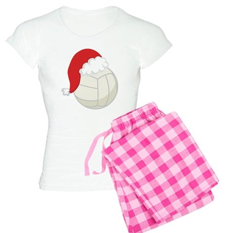 Volleyball Santa Gift Women's Light Pajamas