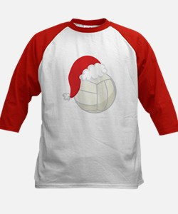 Volleyball Santa Gift Tee