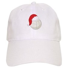 Volleyball Santa Gift Baseball Cap