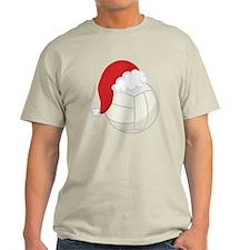 Volleyball Santa Gift T-Shirt