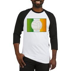 Irish Volleyball Gift Baseball Jersey