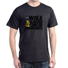 I Walk Bladder Cancer T-Shirt
