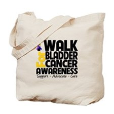 I Walk Bladder Cancer Tote Bag