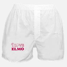 I Love Elmo Boxer Shorts