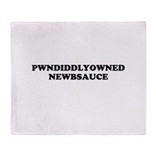 Pwnd Throw Blanket