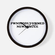 Pwnd Wall Clock