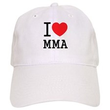 I love MMA Baseball Cap