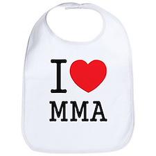 I love MMA Bib
