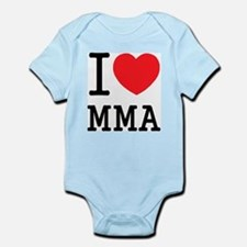 I love MMA Infant Creeper
