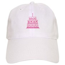 1st Anniversary Cake Baseball Cap