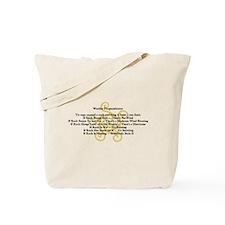 WEATHER PROGNOSTICATOR Gifts Tote Bag Mania Humor