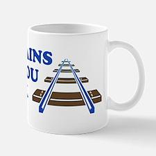 Trains On Track Mug