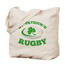 st. patrick's rugby Tote Bag