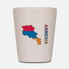 Map Of Armenia Shot Glass