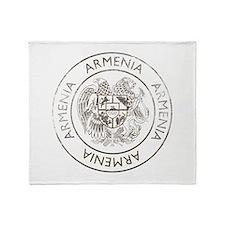 Vintage Armenia Throw Blanket