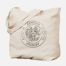 Vintage Armenia Tote Bag
