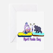 April Fools Day Greeting Card