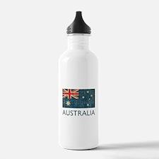Vintage Australia Sports Water Bottle