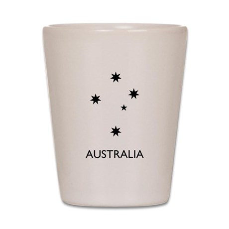 Australia Shot Glass