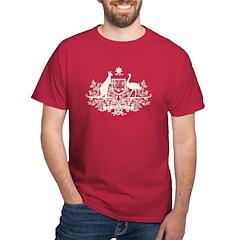 B/W Australia Coat Of Arms T-Shirt