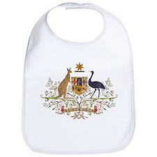 Vintage Australia Coat Of Arms Bib