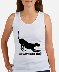 Downward Dog Design Tank Top