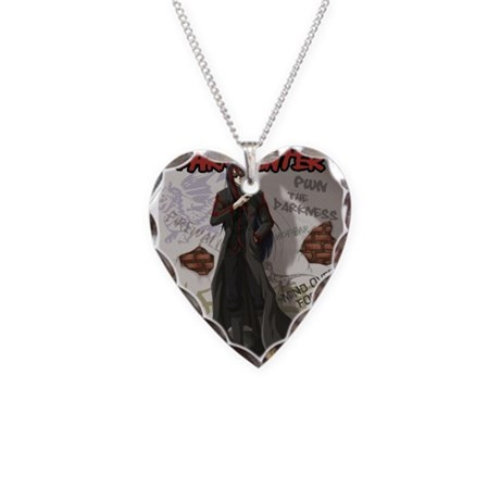 Acheron Necklace Heart Charm