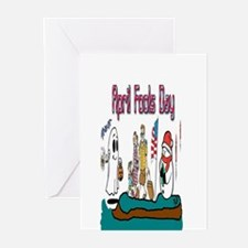 April Fools MIX UP Greeting Cards (Pk of 10)