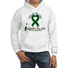With All My Heart Cerebral Palsy Hoodie Sweatshirt