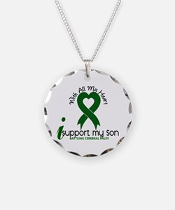 With All My Heart Cerebral Palsy Necklace