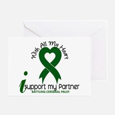 With All My Heart Cerebral Palsy Greeting Card
