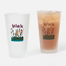 April Fools MIX UP Drinking Glass
