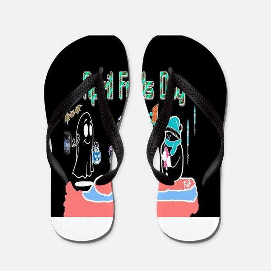 April Fools MIX UP Flip Flops