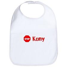 Stop Kony Sign Bib