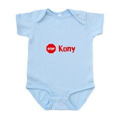 Stop Kony Sign Infant Bodysuit