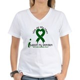 Cerebral palsy Womens V-Neck T-shirts